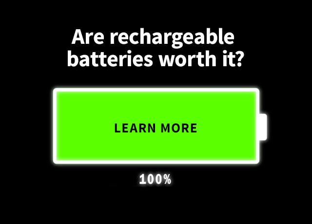 Are rechargeable batteries worth it?